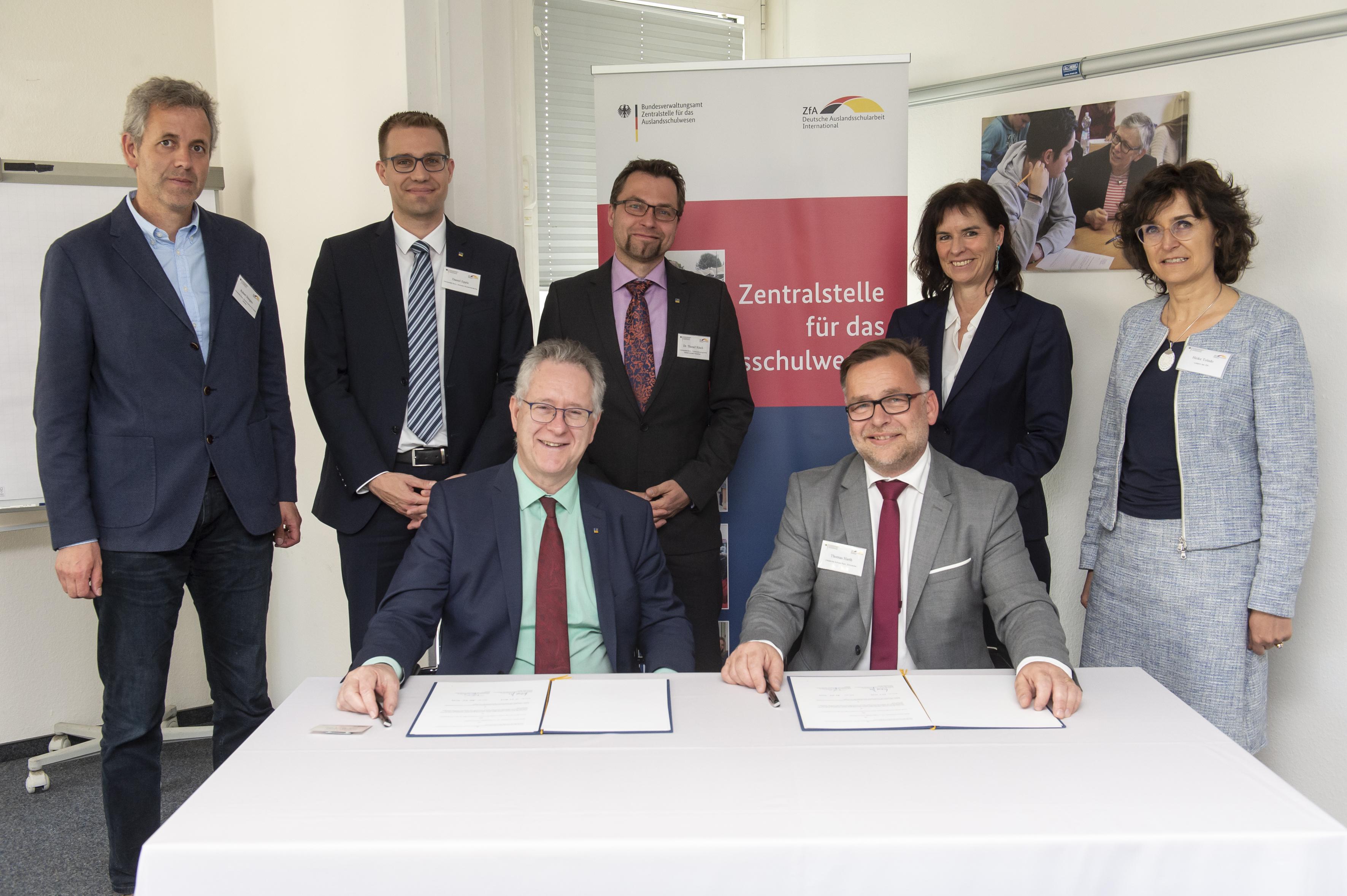 BZL kooperiert mit Deutscher Schule Rom