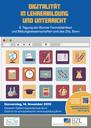 Digitalität in Lehrerbildung und Unterricht – Jahrestagung der Bonner Fachdidaktiken und Bildungswissenschaften, 14. November 2019