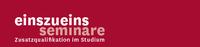 """""""einszueins"""" - Seminarangebote für Lehramtsstudierende"""