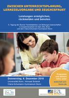 """""""Leistungen ermöglichen, rückmelden und benoten"""" : 5. Jahrestagung der Fachdidaktiken und Bildungswissenschaften"""