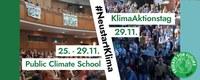 Public Climate School: Veranstaltungen im Rahmen der Klimastreikwoche vom 25. bis 29. November 2019